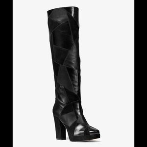 Michael Kors ***Brand new** Suede + Leather Boots